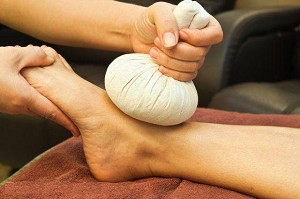 Herbal Foot Massage